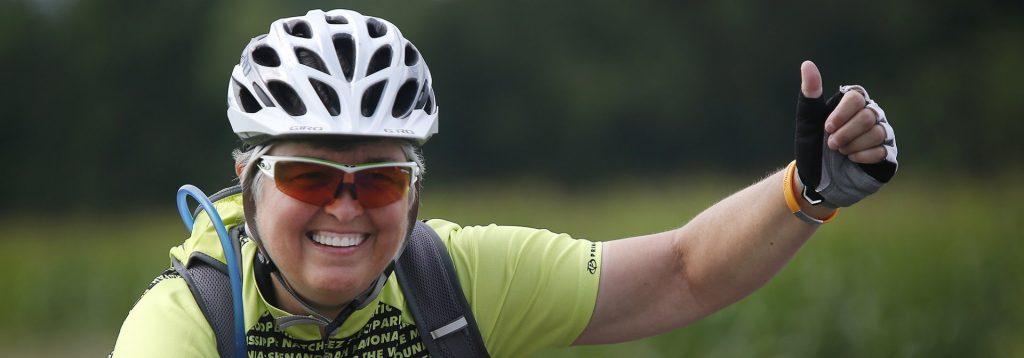women's cross country cycling tour