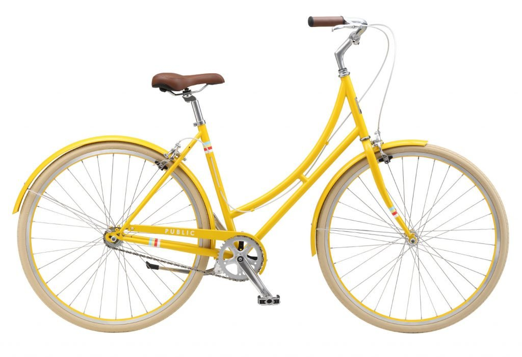 public bikes womens cruiser bike