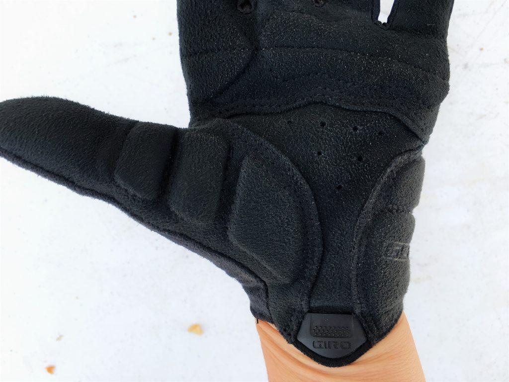 giro tessa gloves gel padding